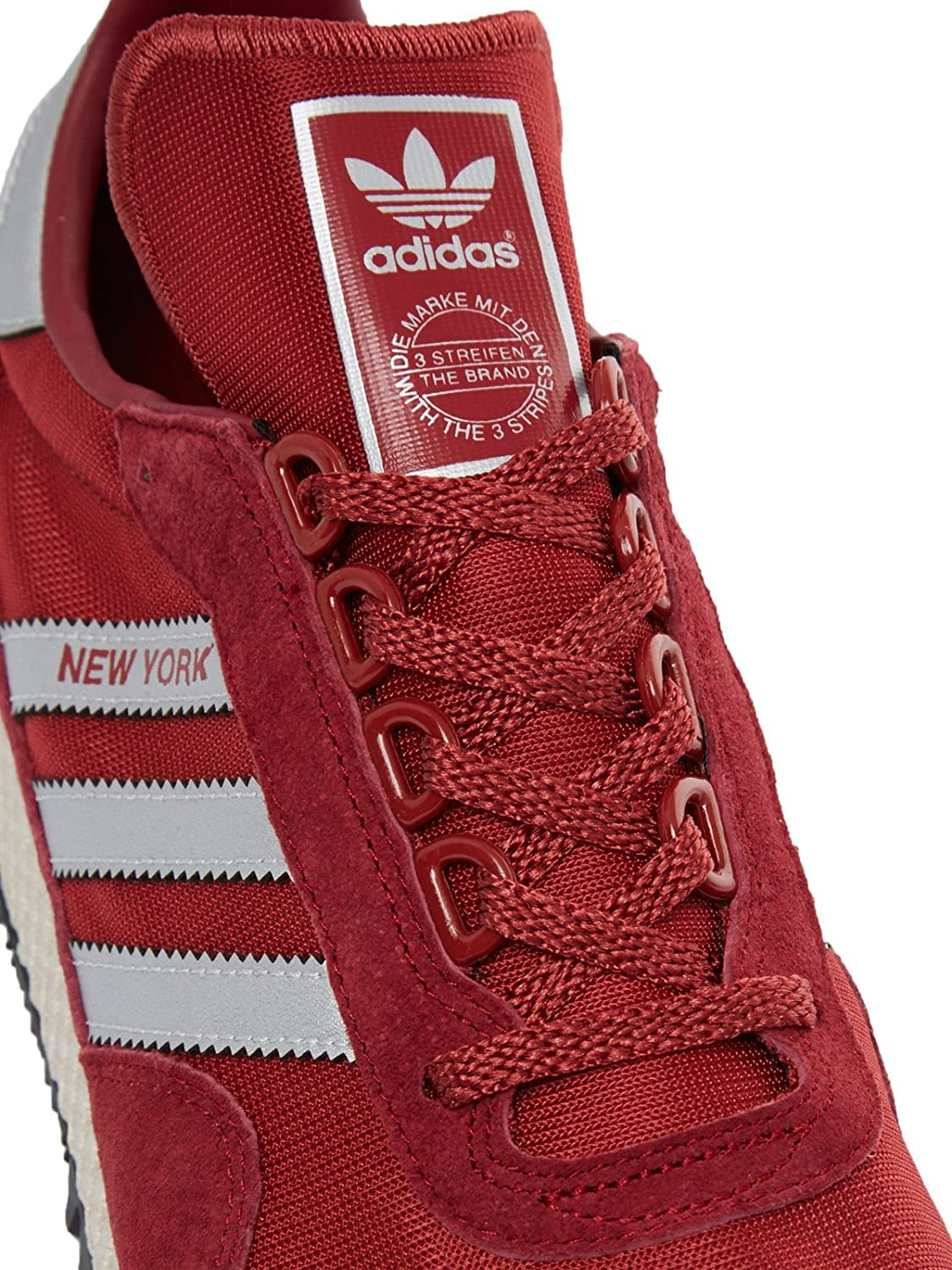 adidas Originals New York, Collegiate Burgundy Matte Silver