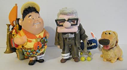 amazon com disney pixar up movie figure set toys games