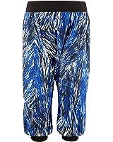 Zumba Women's Frill Me Harem Capri Pants