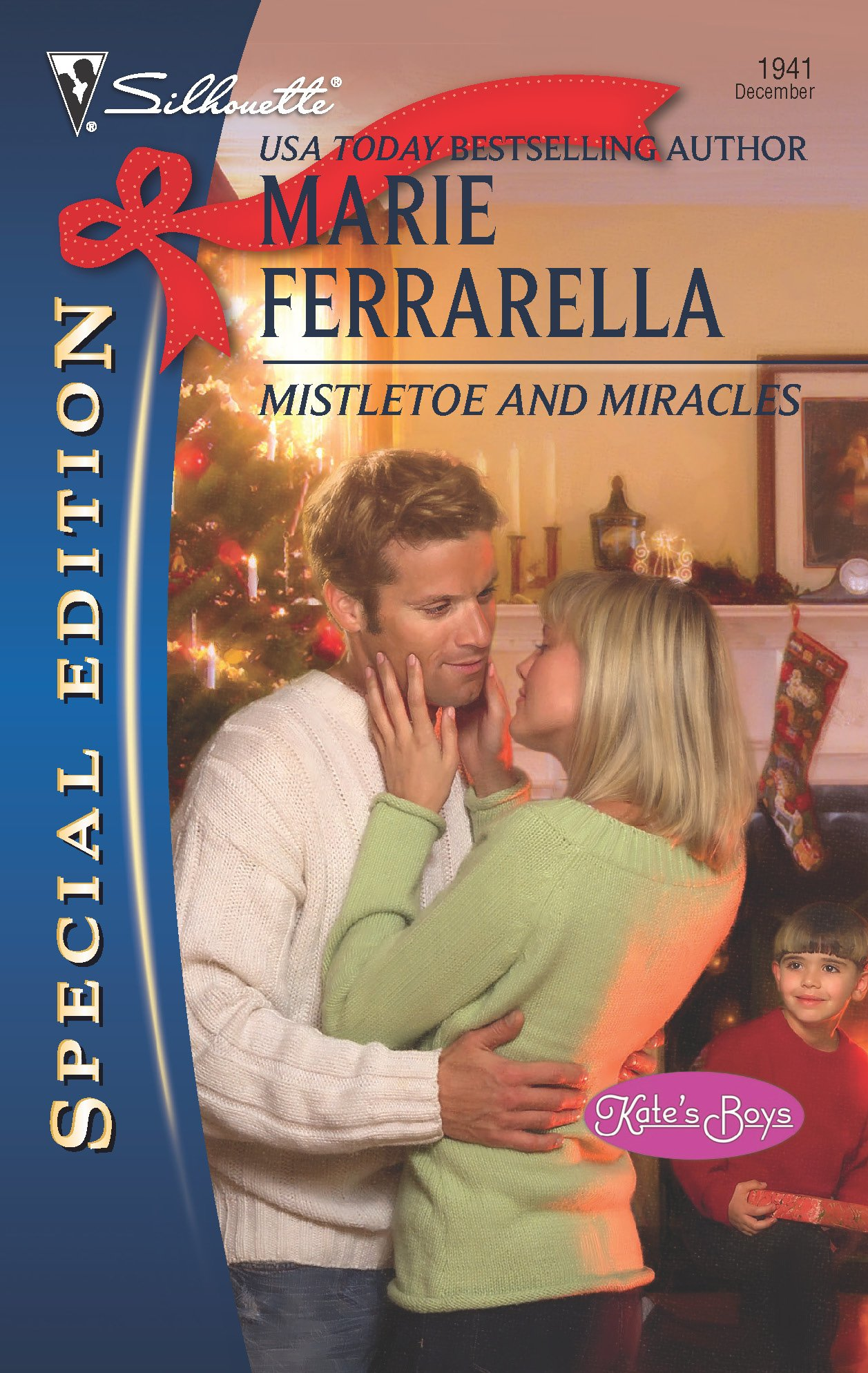 Read Online Mistletoe And Miracles (Kate's Boys) pdf