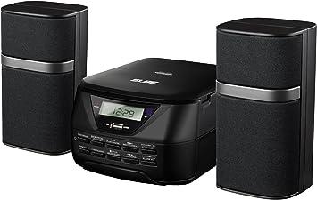 Elbe HiFi-557-USB - Micro cadena estéreo digital con MP3, CD, Aux-In, 2 x 2.5 W: Amazon.es: Electrónica