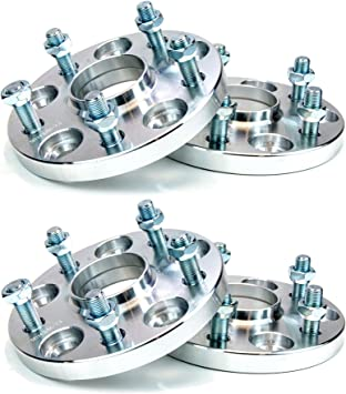 4PCs Aluminium Hubcentric Wheel Spacer 5x114.3 67.1 30mm M12x1.5 Mitsubishi