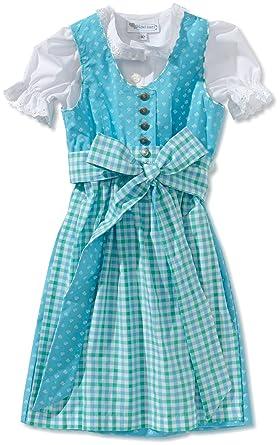 Edel Herz Vestido Para Niña Color Turquesa Talla 3 Años