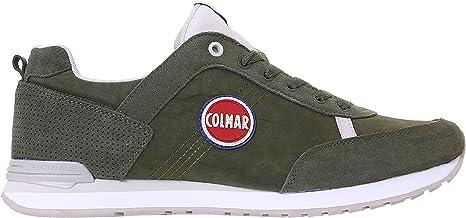 Colmar Originals - Zapatillas deportivas, color verde militar Travis 700, Verde: Amazon.es: Deportes y aire libre