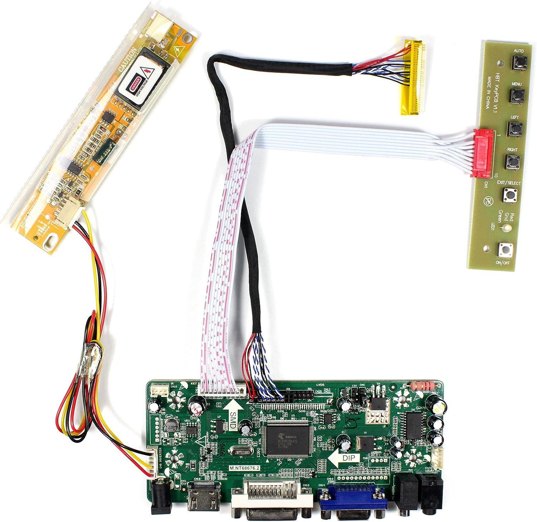 HDMI+DVI+VGA Controller Monitor Board Lvds Diy Kit for LTM230HL08 1920X1080