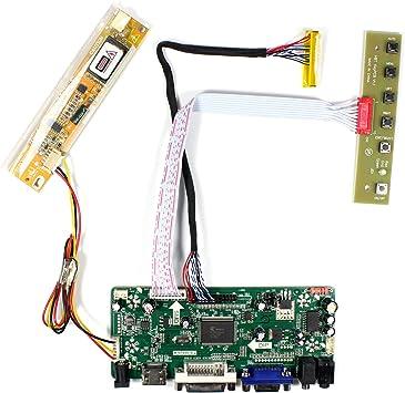 LCD LED Controller Board Converter Kit for N156B3-L02 NT68676 HDMI+DVI+VGA