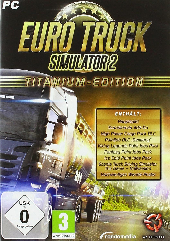 Euro Truck Simulator 2 - Titanium Edition [Importación alemana]: Amazon.es: Videojuegos