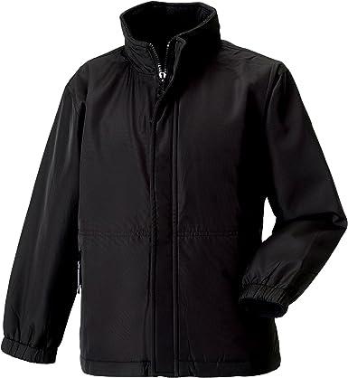 Mischief Boys Girls Unisex Fleece Reversible Jacket Winter Warm Coat Zipped School
