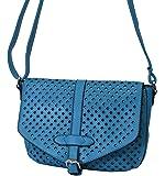 Palamona MittelFormat Umhängetasche Ausgehtasche Handtaschen LaserCut Muster Abendtasche Crossover Bags Damen Freizeit Schultertaschen Lederimitat 27x19x9 cm (B x H x T)