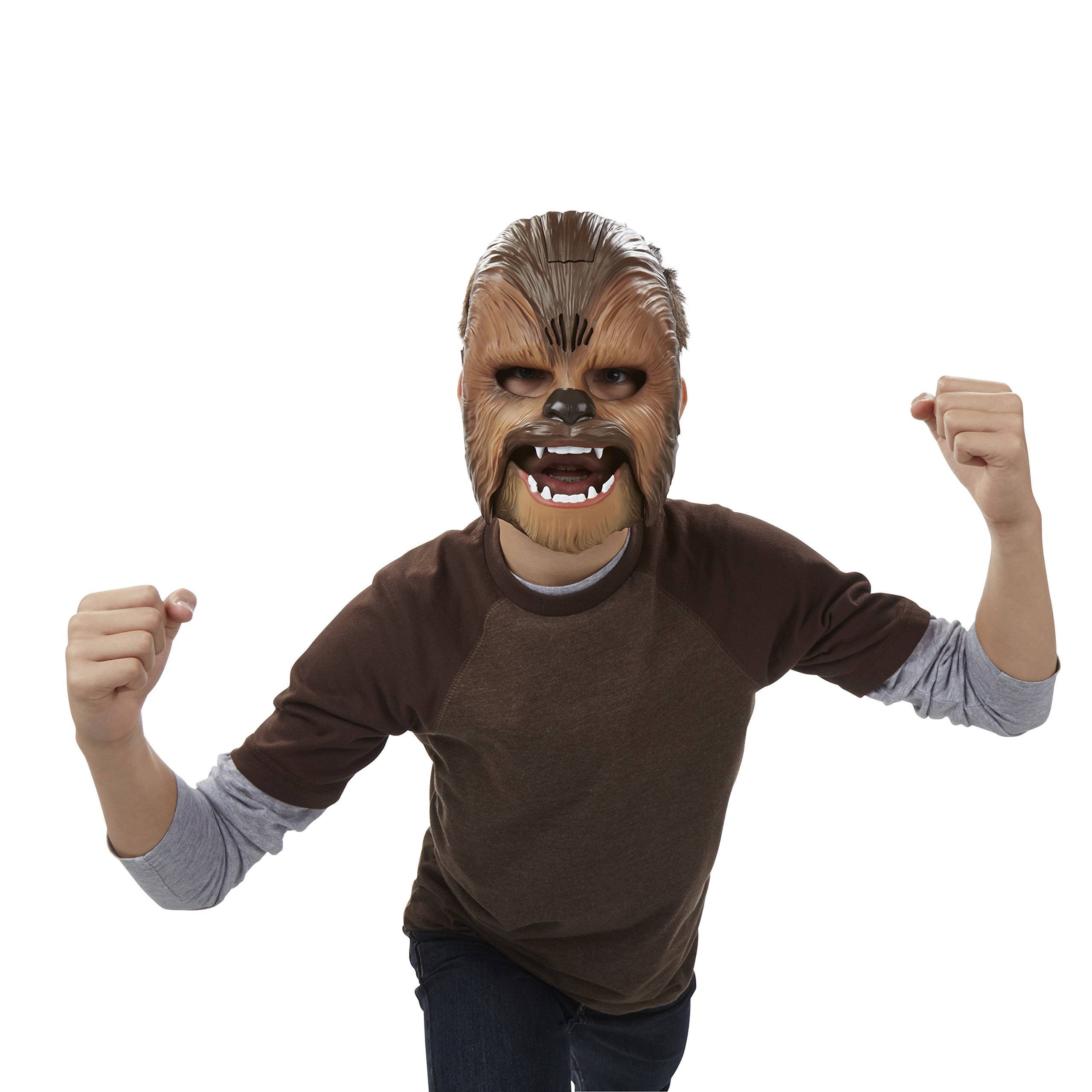 Star Wars Movie Roaring Chewbacca Wookiee Sounds Mask, Ages 5 and up (Amazon Exclusive) by Star Wars (Image #4)