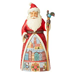 Enesco Jim Shore Heartwood Creek Portuguese Santa
