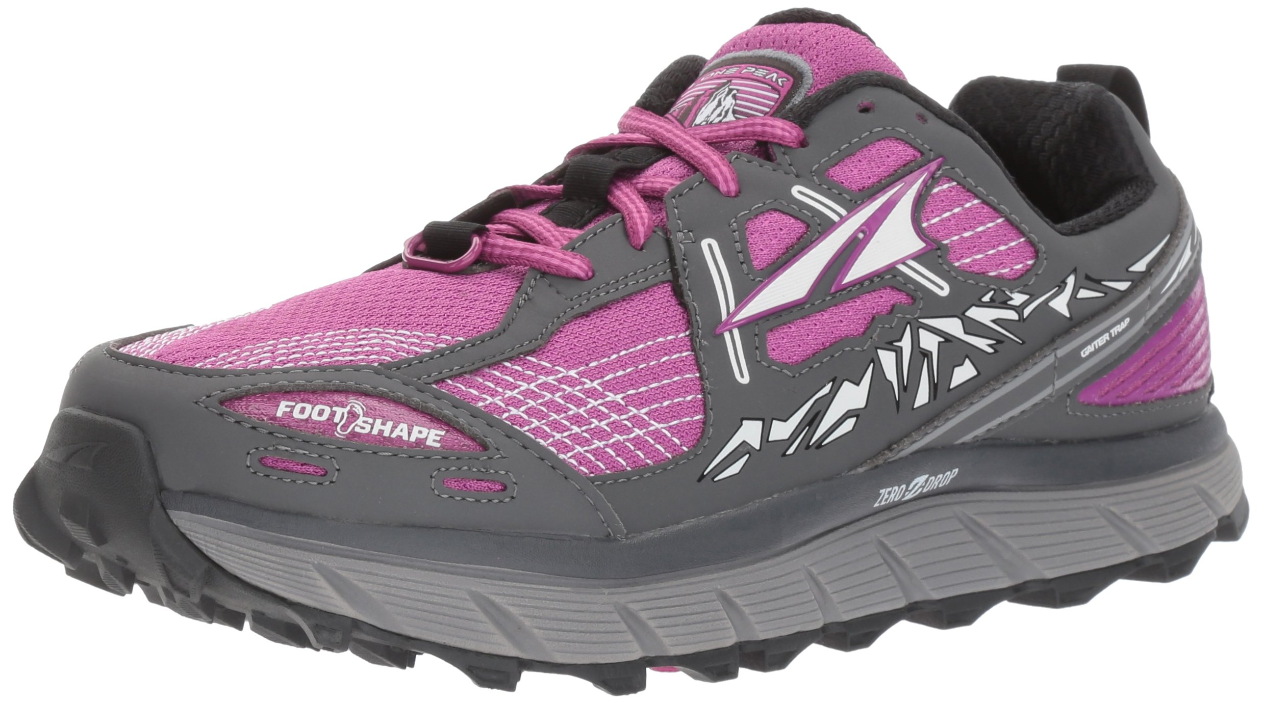 Altra Women's Lone Peak 3.5 Running Shoe, Purple, 9 B US by Altra
