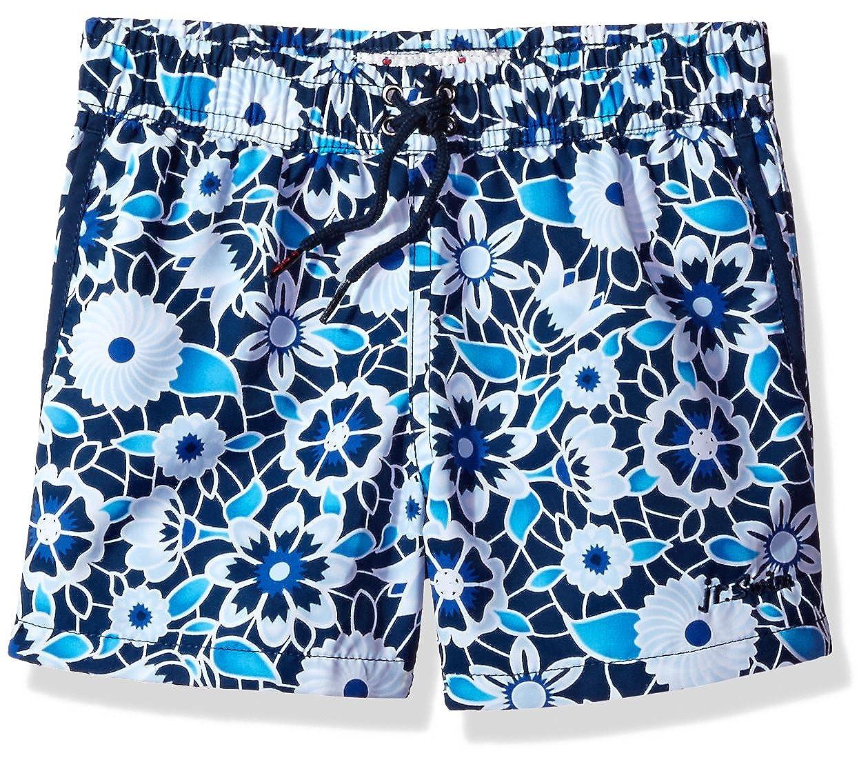 Ouxioaz Boys Swim Trunk Funny Eyes Blue Beach Board Shorts
