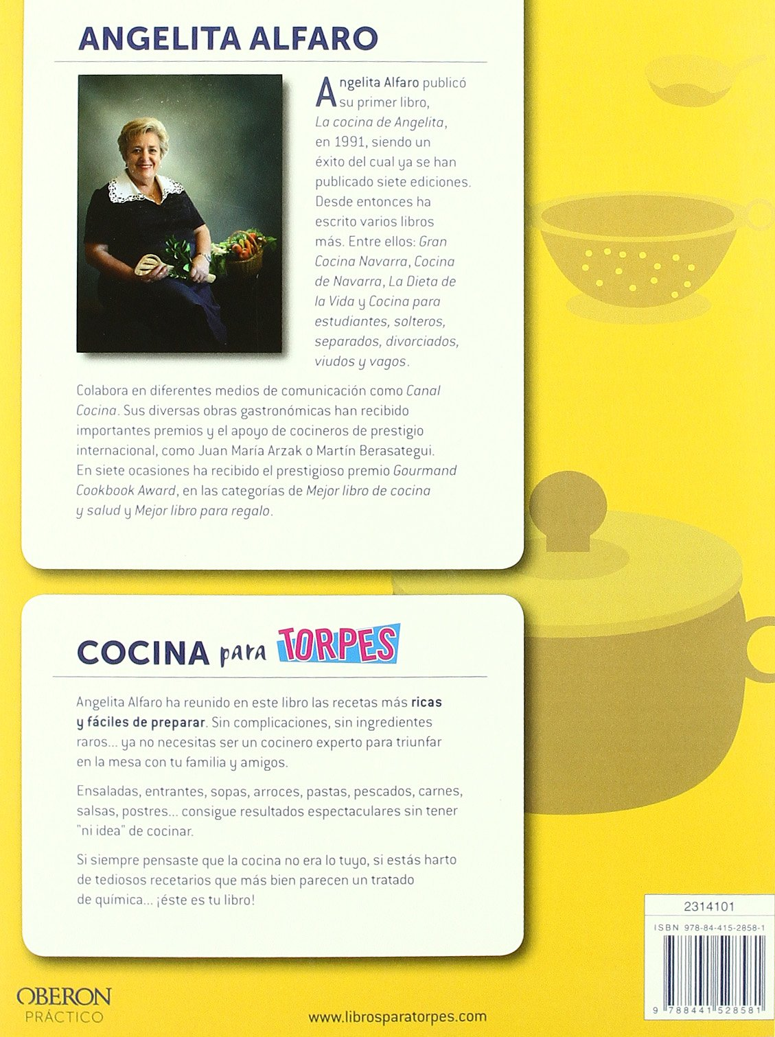 Cocina (Spanish Edition): Angelita Alfaro Vidorreta: 9788441528581: Amazon.com: Books