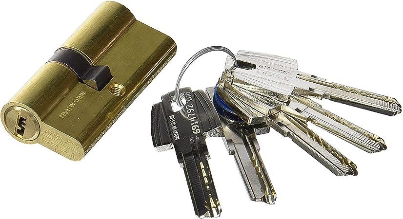 TFB7Q 3010109 Cilindro Tesa Seguridad T60 /30x40 Latonado, 30 x 40 ...