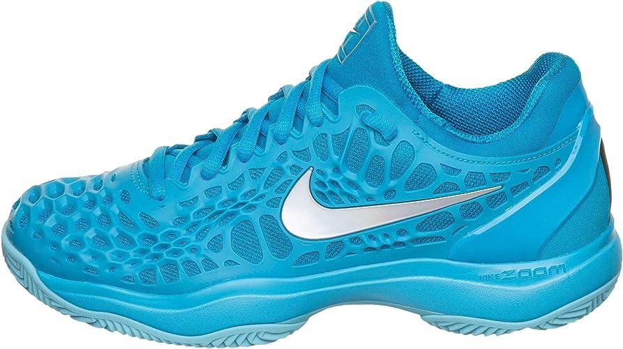 Nike Damen Tennisschuhe Cage 3 Clay türkis Gr. 38,5: Amazon