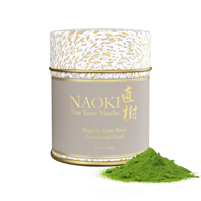 Naoki Matcha (Fragrant Yame Blend, 1.4oz / 40g) – Authentic Japanese Matcha Green Tea Powder Ceremonial Grade from Yame, Fukuoka
