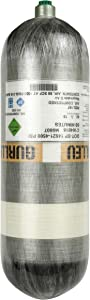 IORMAN 4500psi High Pressure Composite Cylinder Carbon Fiber PCP Paintball Air Tank (Empty Bottle)
