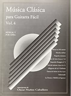 Música Clásica para Guitarra Fácil, Volumen 4