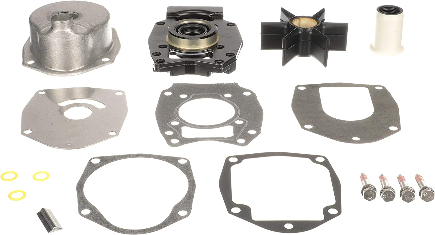 Quicksilver Water Pump Repair Kit 8M0113801 - Outboards - for Mercury or Mariner 30 HP Through 60 HP 4-Stroke Outboards