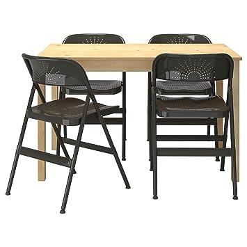 Y Ikea Ongi Frode De Mesa Sillas Pino OscuroAmazon 4 es Gris v7YgbfmI6y