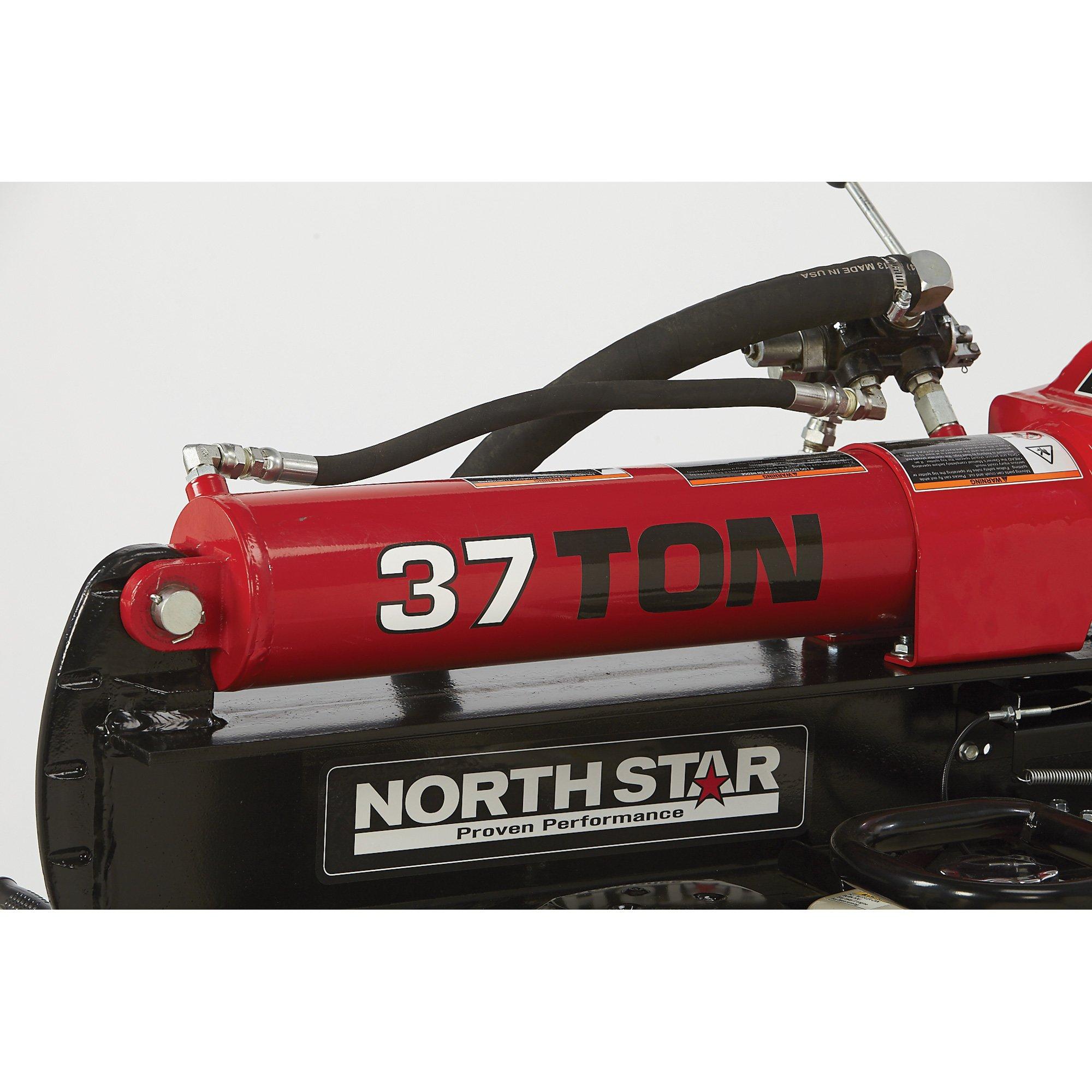 NorthStar Deluxe Horizontal/Vertical Log Splitter - 37-Ton Ram Force, 389cc Honda GX390 Engine by NorthStar