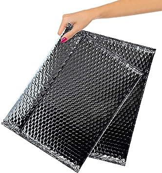 Bubble Mailers Bags Self Adhesive Sealing Express Envelope Gifts Matte Black