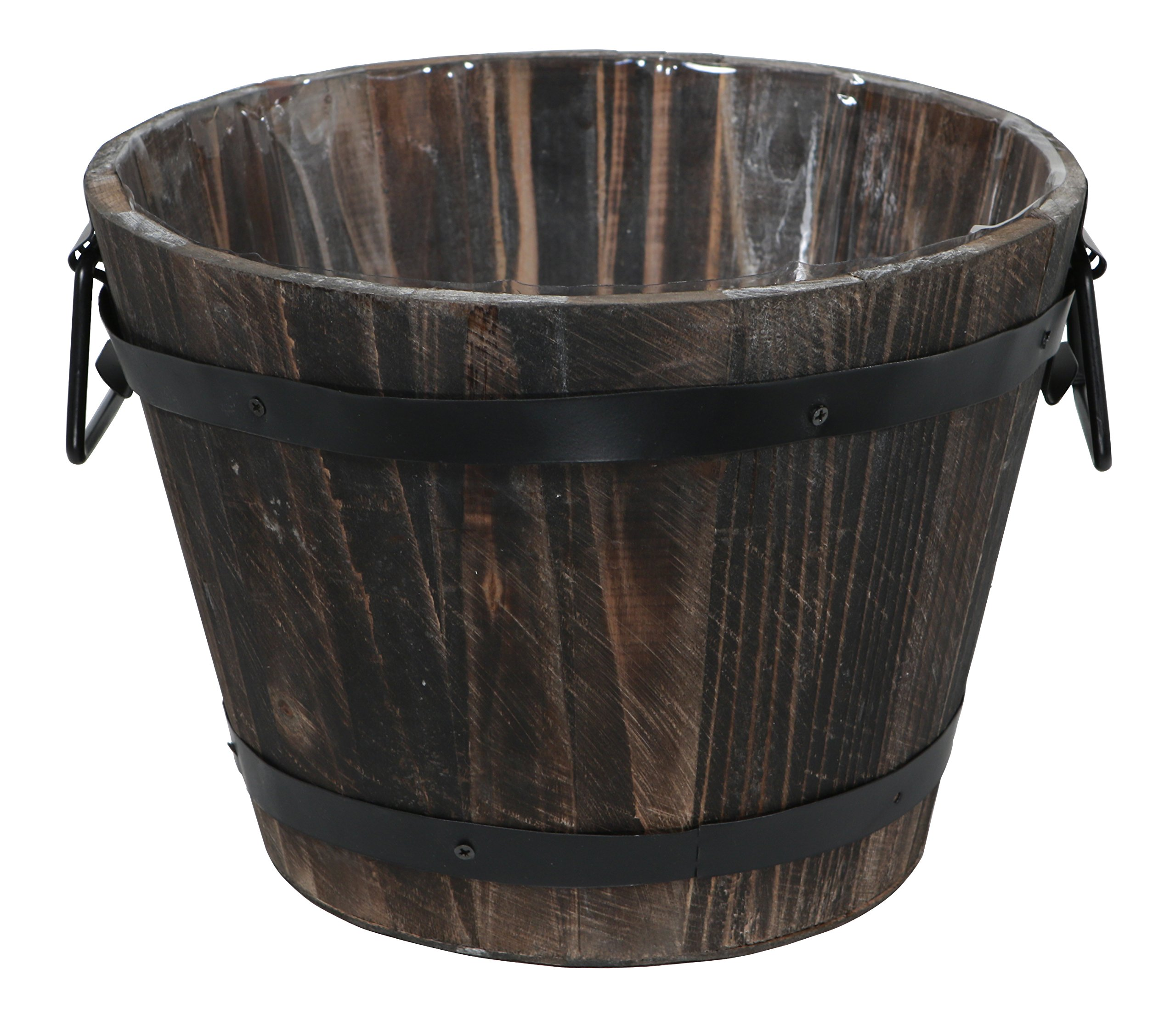 Cheung's FP-3768 Wooden Bucket with Side Handles