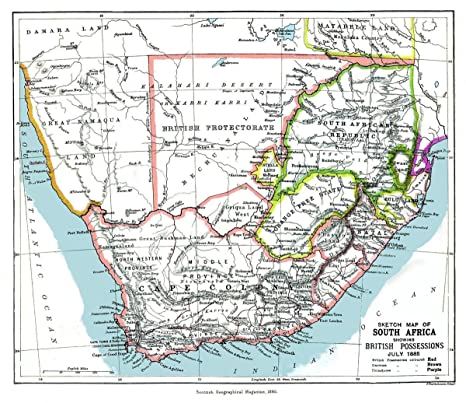 South Africa Road Map With Distances.Amazon Com Gifts Delight Laminated 27x24 Poster South