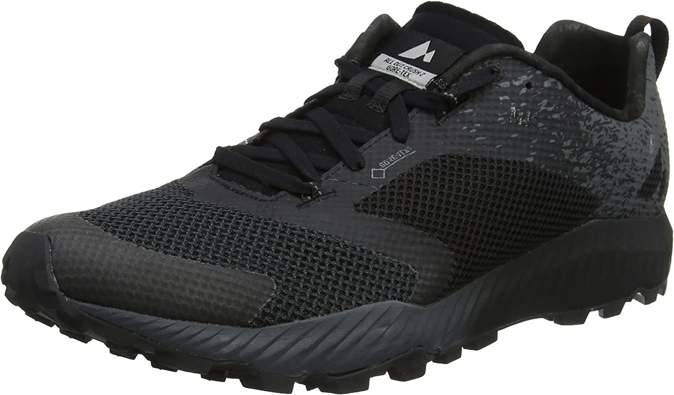 Merrell All out Crush 2 GTX, Zapatillas de Running para Asfalto para Hombre, Negro (Black), 41 EU: Amazon.es: Zapatos y complementos