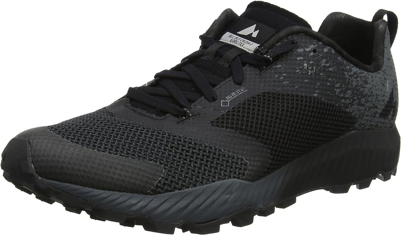 Merrell All out Crush 2 GTX, Zapatillas de Running para Asfalto para Hombre, Negro (Black), 41 EU: Amazon.es: Zapatos y complementos