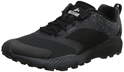 2ba871ae67 Merrell Men's All Out All Out Crush 2 GTX Trail Running Shoes, Black, 6.5