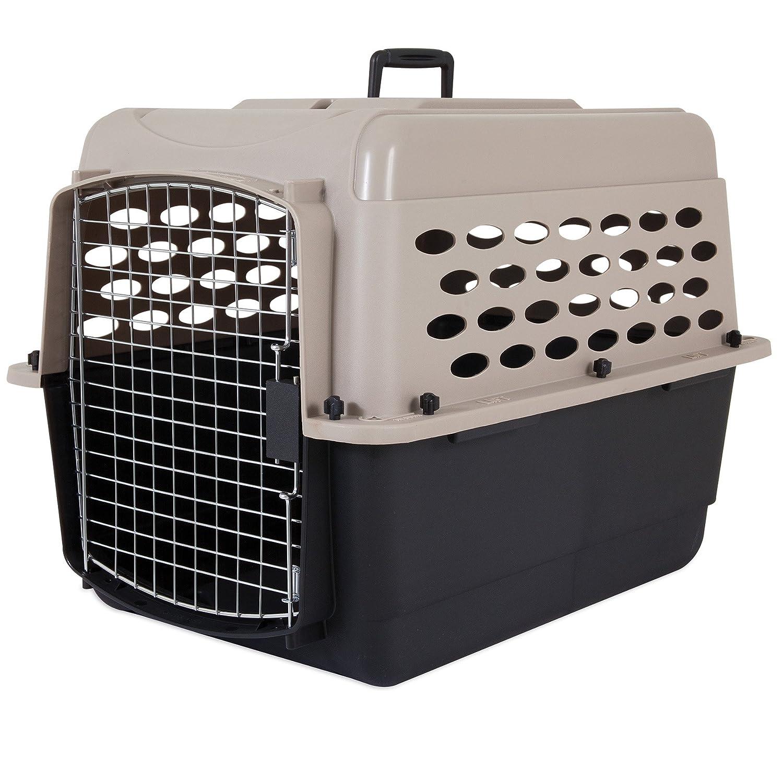 Petmate Vari Kennel Taupe / negro, 32 pulgadas: Amazon.es: Productos para mascotas
