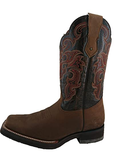 5dd0870463 Rio Grande Bota Rodeo Hombre Marca Color Crazy Horse Miel  Amazon ...