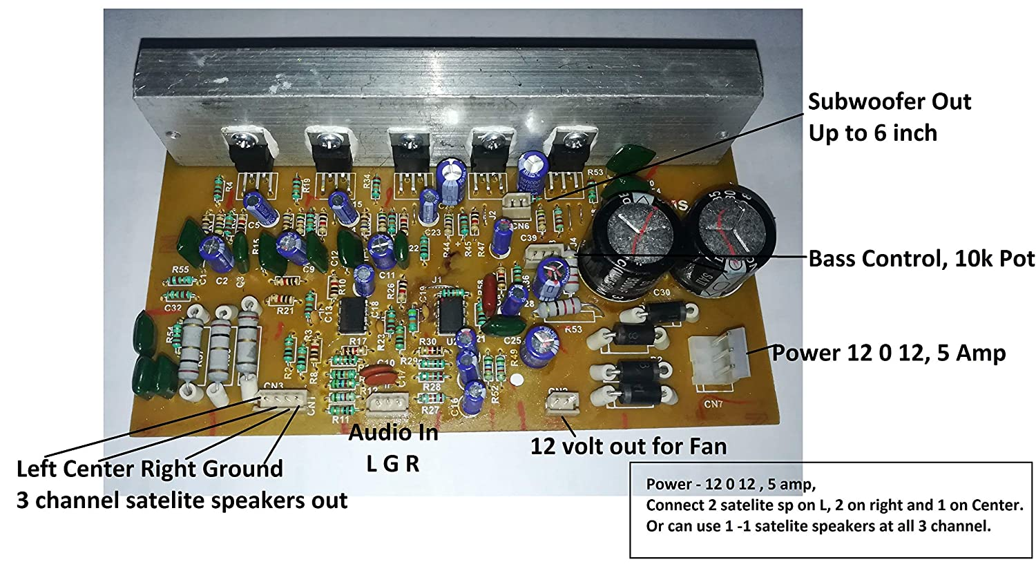 An Outstanding Home Theater System Circuit Circuit Diagram Centre