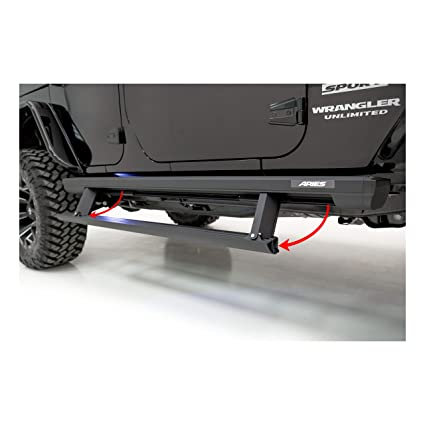 Amazoncom Aries 3036570 Actiontrac Truck Powered Running Boards