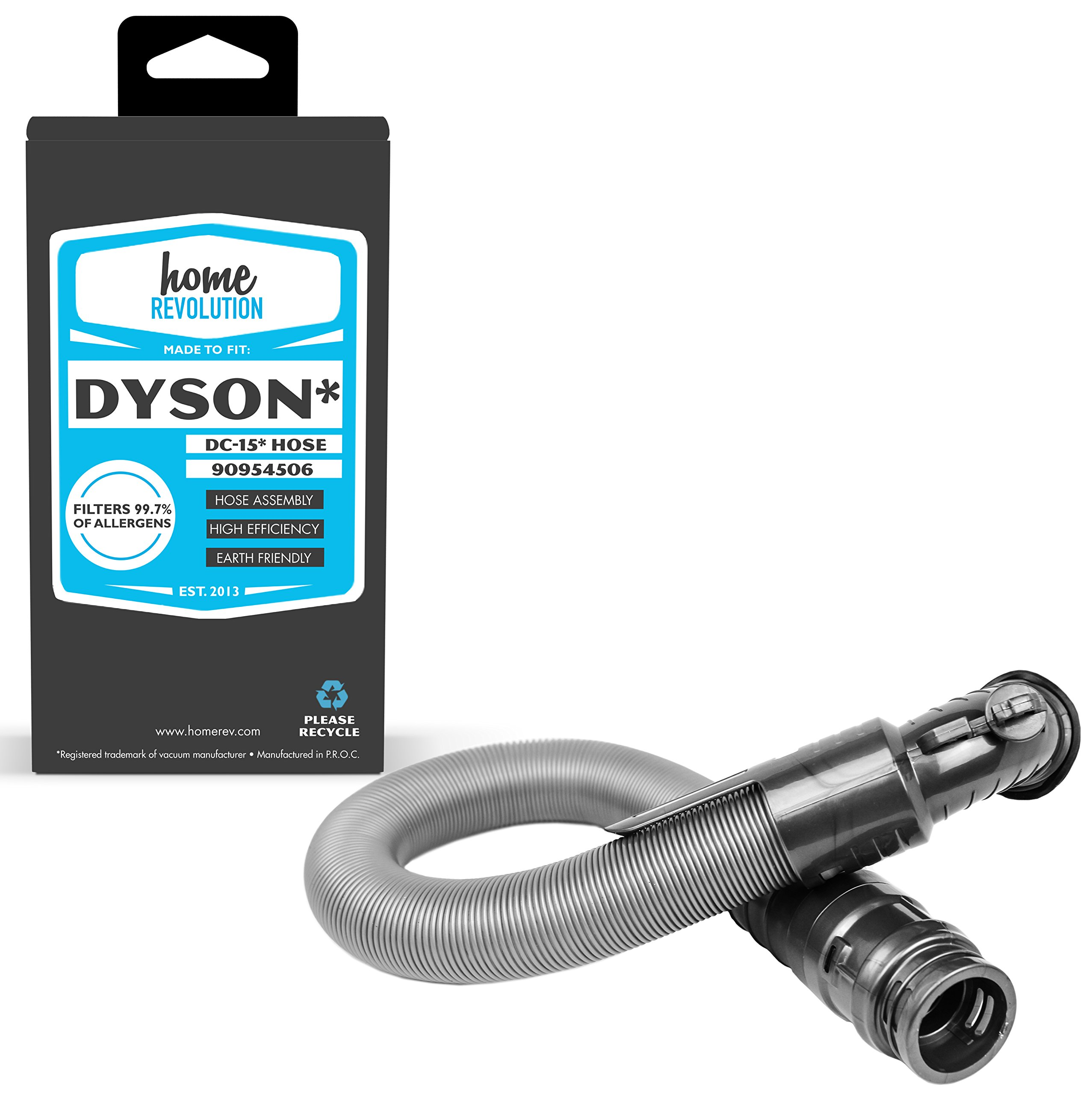 Home Revolution Replacement Vacuum Hose, Fits Dyson DC15 All Floors, Animal, Full Kit, HSN Exclusive, The Ball and Total Clean Vacuums and Part 909545-06