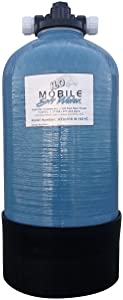 Mobile-Soft-Water Portable 16,000 Grain (tm) Unit with Tank, Tank Head, Lead Free NSF 61 Male GHC Tank Connections, Distributor, Resin and Instructions. Used in Rv & Car Wash Applications.