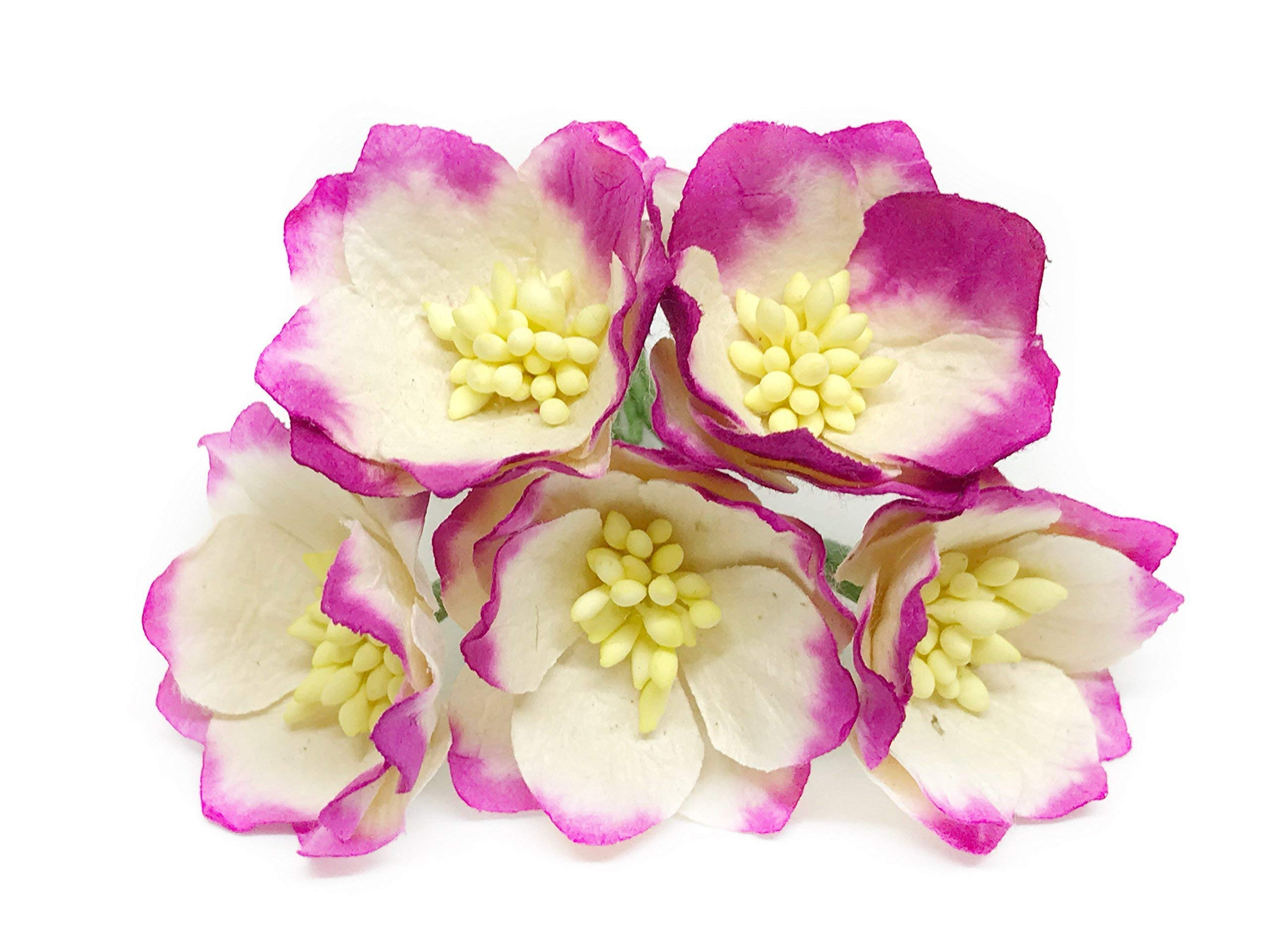 15-Cherry-Blossom-Flower-Artificial-Flowers-Paper-Flowers-Synthetic-Flowers-Fake-Flowers-Paper-Craft-Flowers-Mulberry-Paper-Flowers-Wedding-12-Pieces