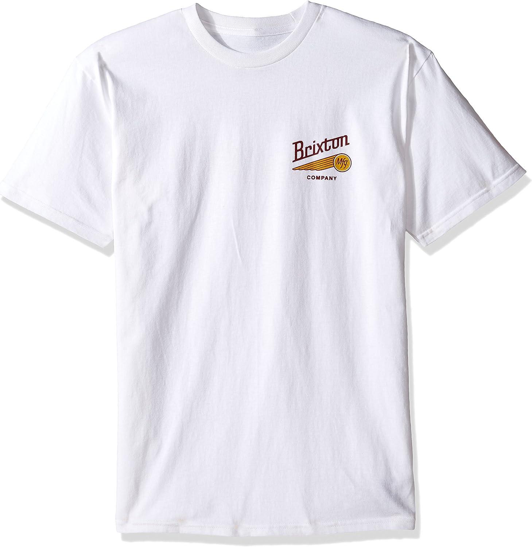 BRIXTON – Camiseta para Hombre Maverick estándar, Hombre, Maverick Standard: Amazon.es: Ropa y accesorios
