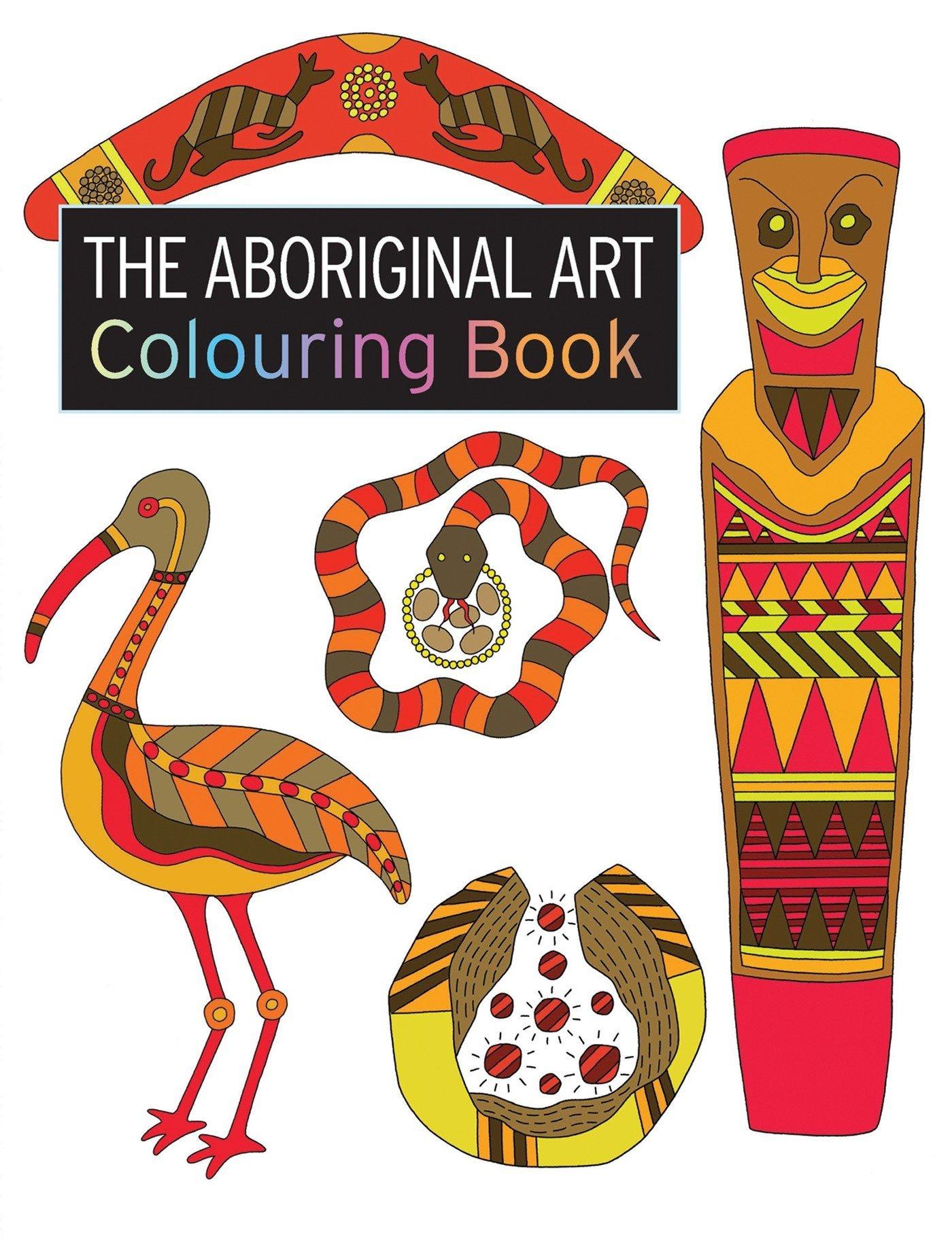 Amazon Aboriginal Art Colouring Book Search Press Colouring