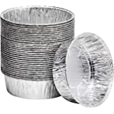 8-Inch Aluminum Dutch Oven Liner Pans | Disposable Cake Pan and Extra Deep Aluminum Foil Pans for Baking, Freezing, and…