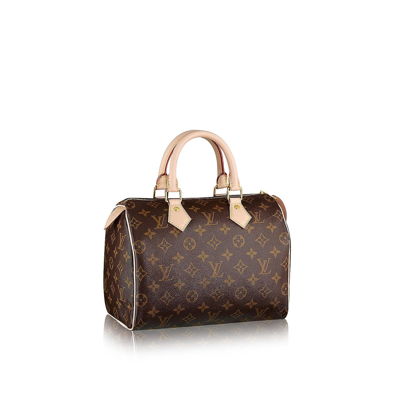 21b206753fb8 Amazon.com  Authentic Women s Vintage Louis Vuitton Speedy 30 Brown  Monogram Travel Bag  Clothing