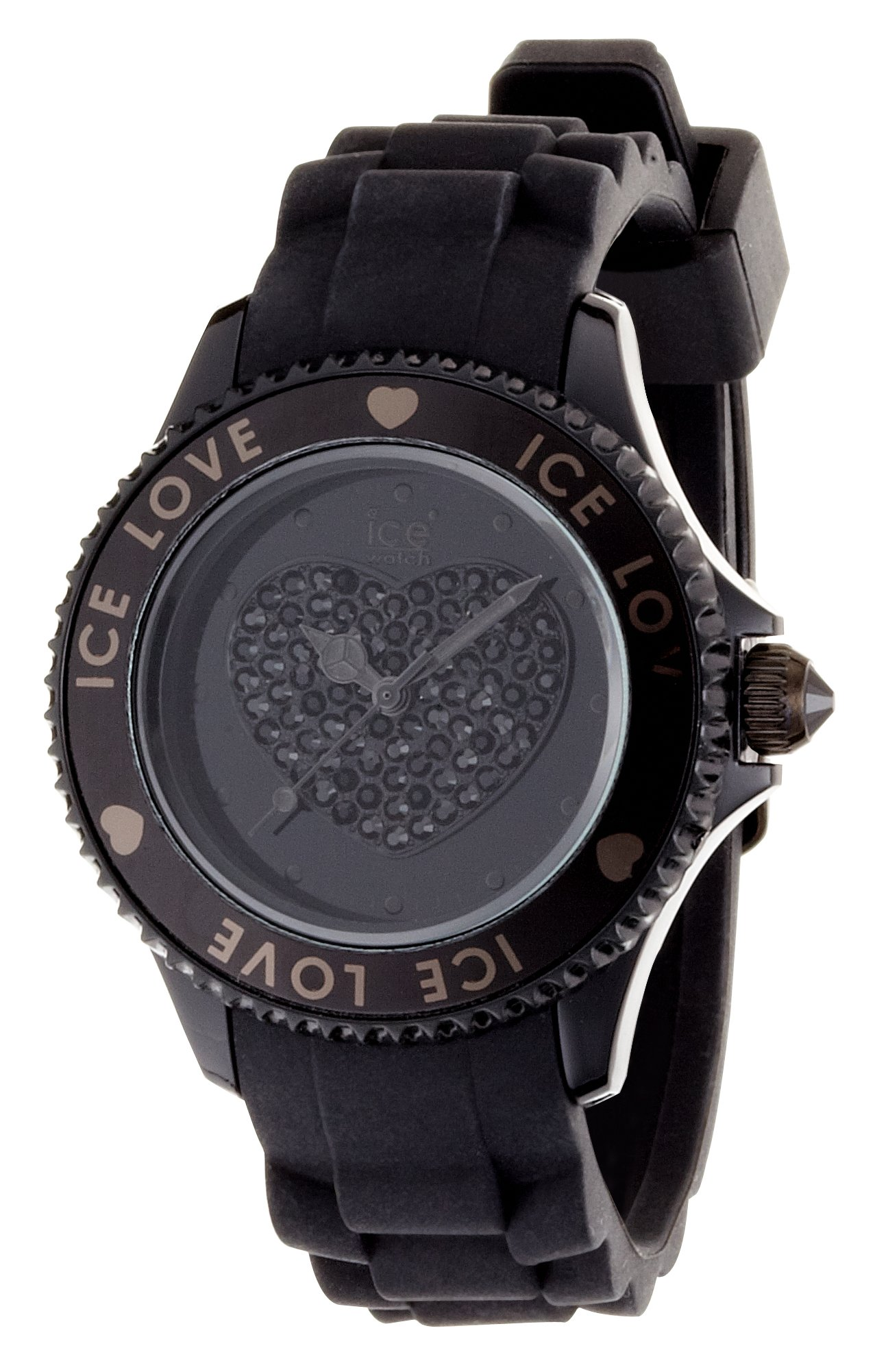 Ice-Watch - Ice-Love collection - Unisex (43mm) - Black