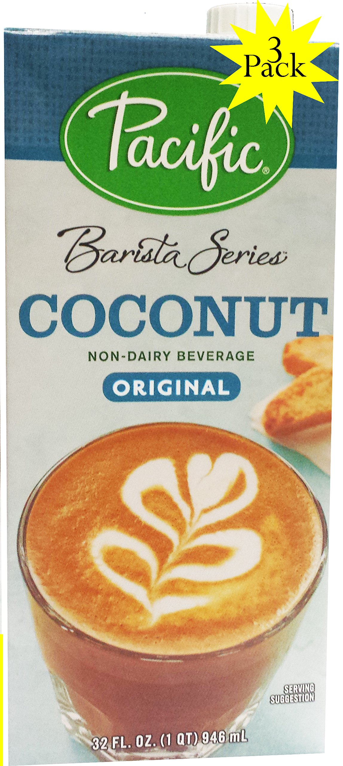 Pacific Barista Series Coconut Original 3 Pack by Pacific
