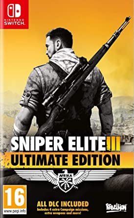 Sniper Elite 3 - Ultimate Edition: Amazon.es: Videojuegos