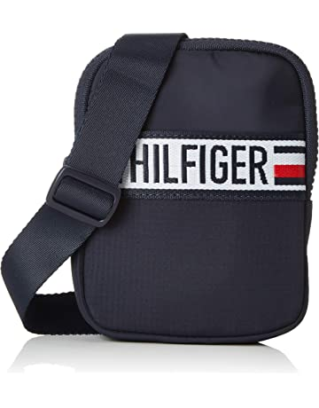 777ce0e9d7c5b0 Tommy Hilfiger Men's Tommy Compact Xover Sports Tape Top-Handle Bag