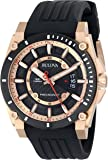 Bulova Men's 98B152 Precisionist Analog Chronograph Black Watch
