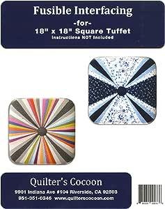 Square Tuffet Fusible Interfacing