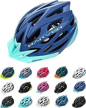 meteor Casco Bicicleta Helmet Bici Ciclismo para Jóvenes y Adulto Bicicleta Patineta Skate Patines Monopatines - Bici Accesorios - El diseño Ligero - Muchos Patrones - Marven: Amazon.es: Deportes y aire libre